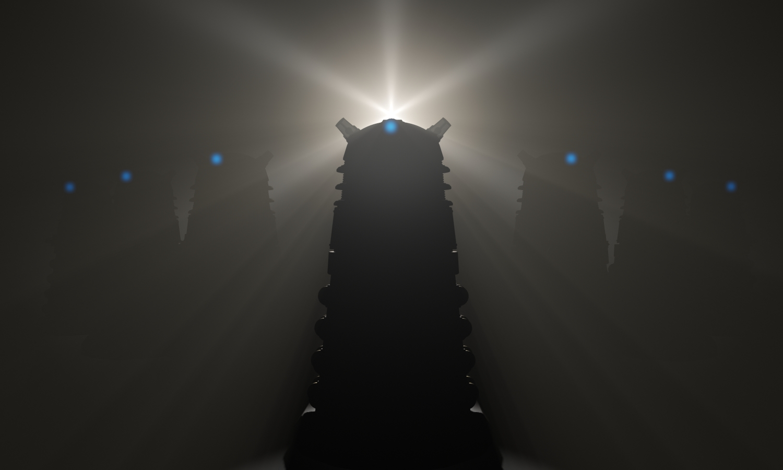 Doctor Who Wallpaper Dalek Exterminate #TheCraftyGeek Ep. 7: ...