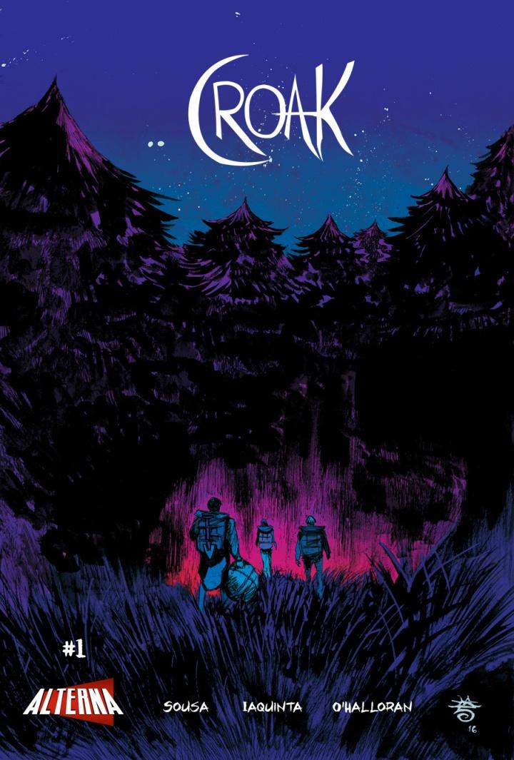 Croak 1 cover