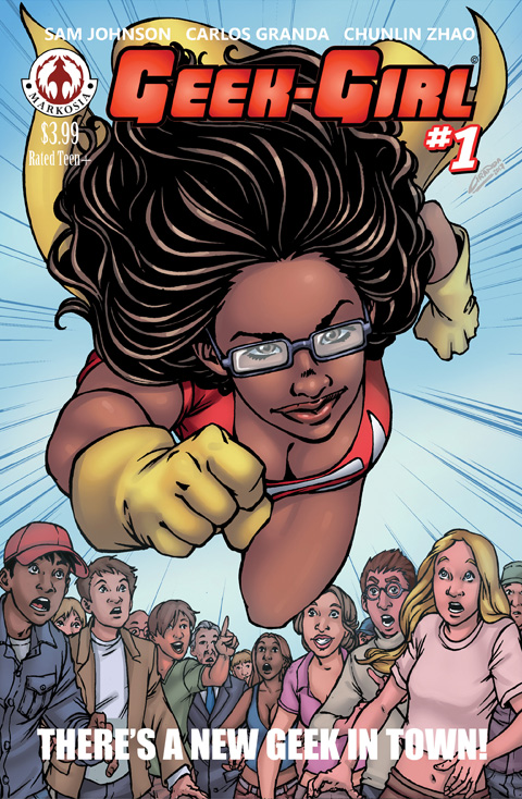 Geek-Girl Volume #2 Issue 1 Comic Book Review ( @daSamJohnson ) from @kleffnotes