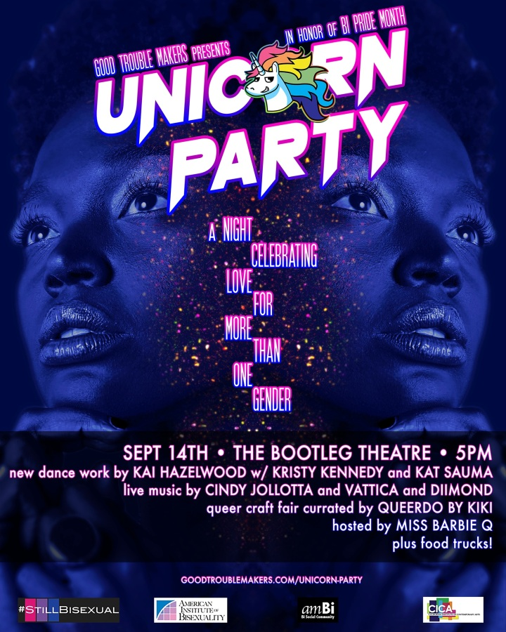 Unicorn Party Poster